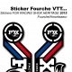 Sticker Fox Racing Shox Heritage 2015 France