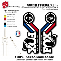 Sticker Fourche Fox 2015 France