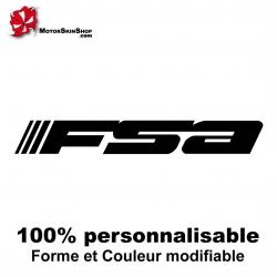 Sticker vélo FSA Vélo