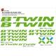 Sticker cadre vélo Kit B'Twin