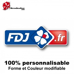 Sticker FDJ vélo