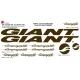 Sticker vélo Giant Shimano Campagnolo XXL