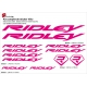 Sticker cadre vélo Ridley