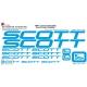 Sticker cadre vélo Scott XXL