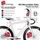 Sticker Mascotte Sprinter Vélo