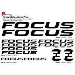 Sticker cadre Focus Vélo