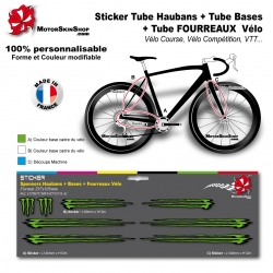 Planche Sticker Monster Hauban Base Fourreau