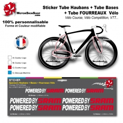 Planche Sticker SRAM Hauban Base Fourreau
