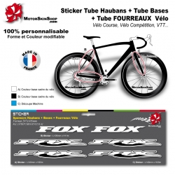 Planche Sticker Fox Hauban Base Fourreau