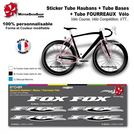 Planche Sticker fox Hauban Base Fourreau