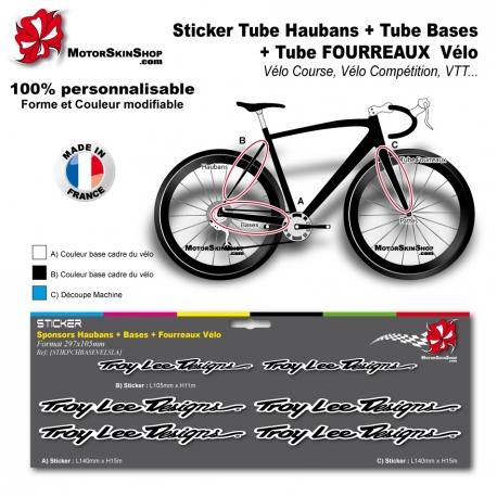 Planche Sticker Troy lee Designs Hauban Base Fourreau