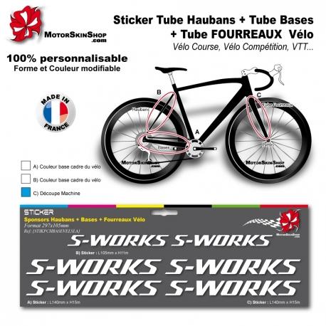 Planche Sticker S Works Hauban Base Fourreau