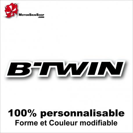 Sticker vélo B'Twin