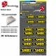 Planche Sticker casque Shoei