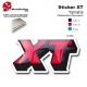 Sticker XT Moto Yamaha