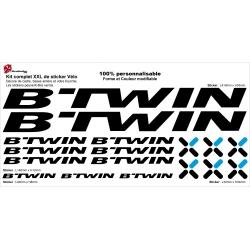 Sticker cadre vélo B'Twin XXL