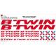 Sticker Kit cadre vélo XXL B'Twin