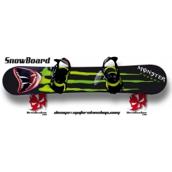 Sticker SnowBoard Monster Energy Monstre