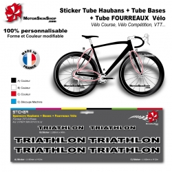 Planche Sticker Triathlon Hauban Base Fourreau