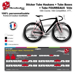 Planche Sticker Ironman Hauban Base Fourreau
