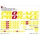 Sticker cadre Prorace Vélo