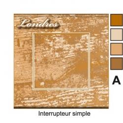 Sticker prise Bois personnalisable universel