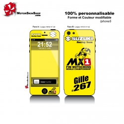 Sticker iPhone 5 Suzuki Racing Team