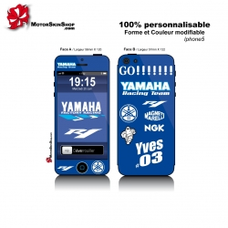 Sticker iPhone 5 R1 Yamaha Personnalisable