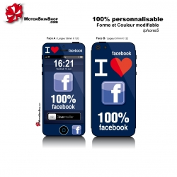 Sticker iPhone 5 Facebook