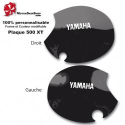 Sticker plaque 500 XT Moto Yamaha origine