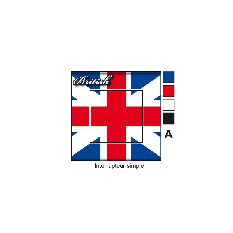 Sticker prise drapeau anglais universel - Malle drapeau anglais ...
