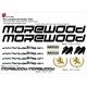 Sticker cadre vélo Kit Morewood