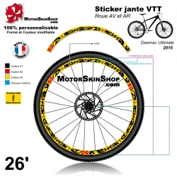 Sticker jante Deemax Ultimate Mavic 2015