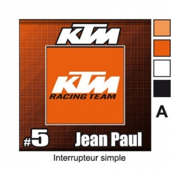 Sticker prise KTM décoration universel