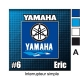 Sticker Prise et Interrupteur électrique Yamaha