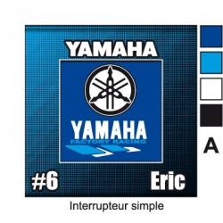 Sticker prise Yamaha universel