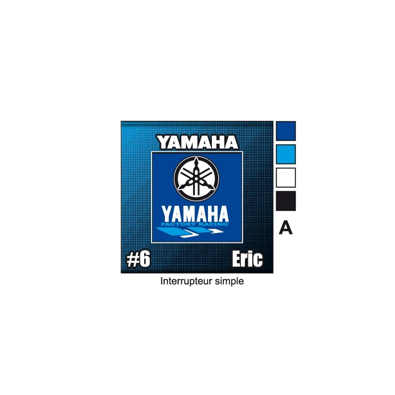 Sticker prise yamaha d coration universel for Decoration yamaha