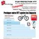 Film de Protection VTT Universel 0,4mm soit 400 Microns