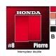 Sticker Prise et Interrupteur électrique Honda