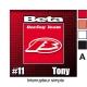 Sticker Prise et Interrupteur électrique Beta moto