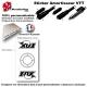 Sticker Amortisseur VTT FOX Blanc Bonbonne