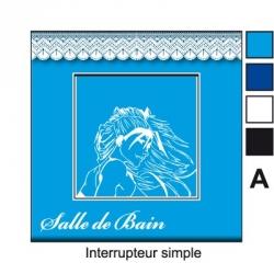 Sticker prise Salle de Bain interrupteur