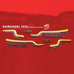 Sticker 350 S2 Kawasaki Moto Yamaha