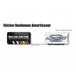 Sticker Bonbonne Amortisseur Moto