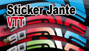 Sticker Jante VTT