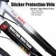 Sticker protection Vélo