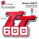 Sticker 600 TT Moto Yamaha 83-93