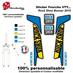 Sticker fourche RockShox Boxxer 2016