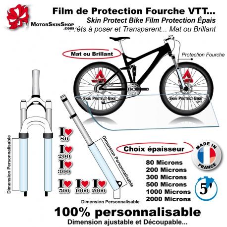 Film de Protection VTT + Fourche économique mat ou brillant