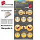 Planche Sticker Smiley Emoticone casque